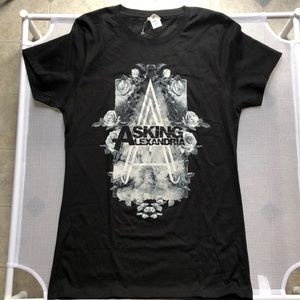 Tops - Asking Alexandria Band Shirt NWOT